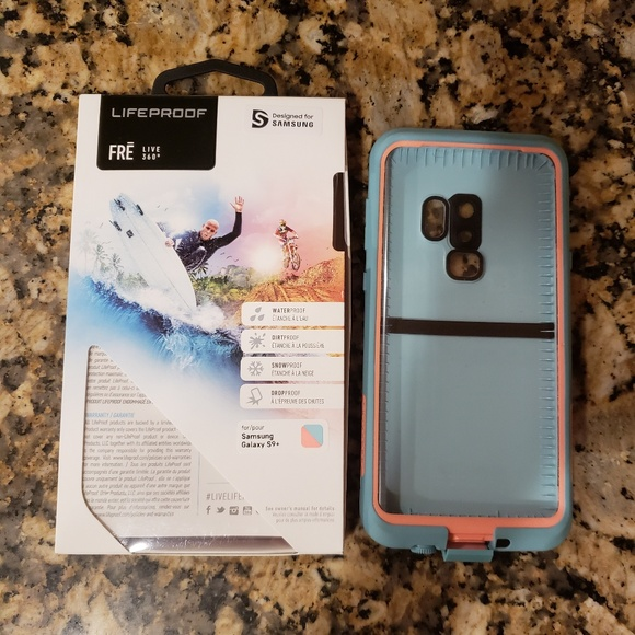 timeless design c341c d77d1 LifeProof FRE Phone Case Samsung galaxy s9 plus NWT
